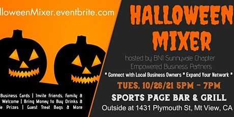 Halloween Business Mixer (hosted by BNI Sunnyvale Chapter) tickets