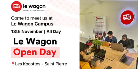 Le Wagon Open Day tickets