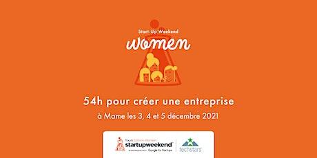 Techstars Startup Weekend Tours Édition Women 2021 billets
