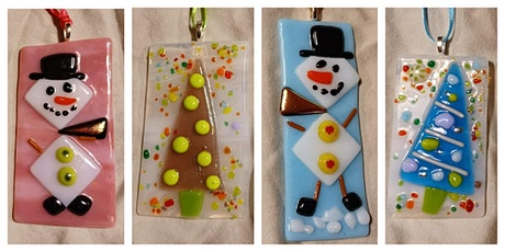 Snowman or Christmas Tree Ornament Workshop - Walled Lake tickets