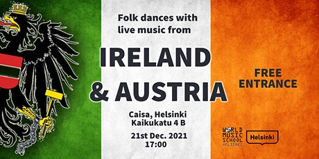 Folk Dances with Live Music from Ireland and Austria tickets