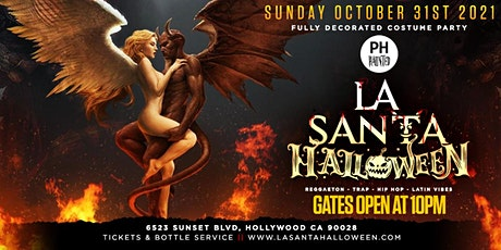La Santa Reggaeton Halloween Party inside Penthouse Hollywood | Oct 31st tickets