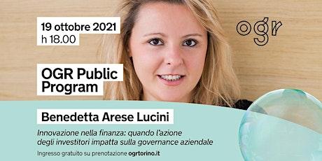 """""""Scintille"""" presenta Benedetta Arese Lucini biglietti"""