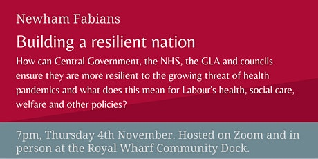 Building a resilient nation tickets