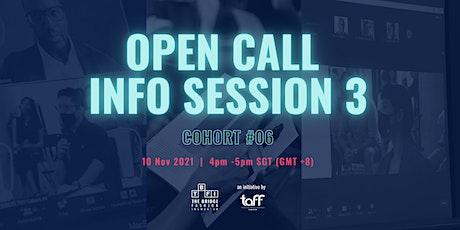 The Bridge Fashion Incubator (TBFI)|Cohort 6 Open Call Info Session 3 tickets