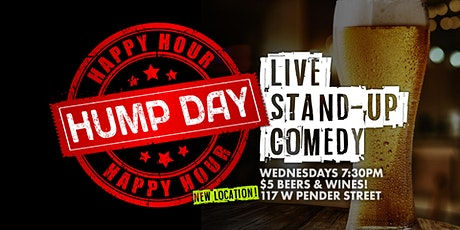 Hump Day Happy Hour  |  Live Stand up Comedy tickets