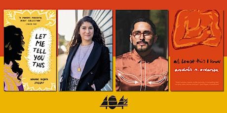 Book Week Scotland: Nadine Aisha Jassat and Andrés N. Ordorica tickets
