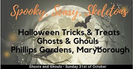 Halloween Trick or Treat tickets