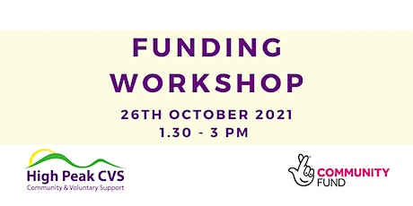 Funding Workshop - The National Lottery Community Fund tickets