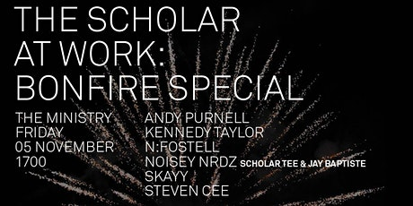 The Scholar At Work [Bonfire Special] tickets