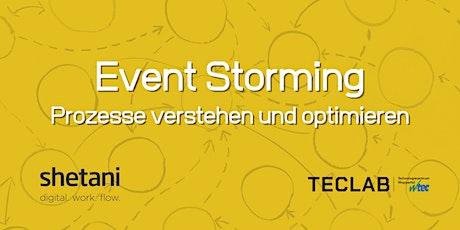 Event Storming - Prozesse verstehen und optimieren Tickets