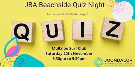 JBA  Beachside Quiz Night tickets