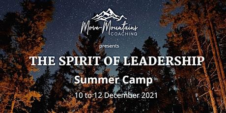 The Spirit of Leadership Adventure Camp tickets