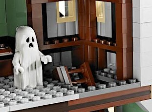 Make your own Lego Haunted Mansion tickets