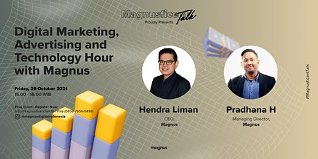 Digital Marketing, Advertising and Technology Hour with Magnus tickets
