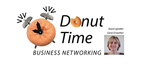 Virtual Donut Time Networking - November 2021 tickets
