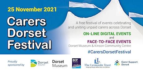 Carers Dorset Festival tickets