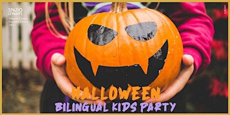 HALLOWEEN BILINGUAL KIDS PARTY biglietti