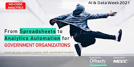 From Spreadsheets to Analytics Automation for Government Organizations tickets