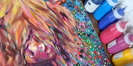 'Highland Cow' painting workshop with Sue Gardner tickets