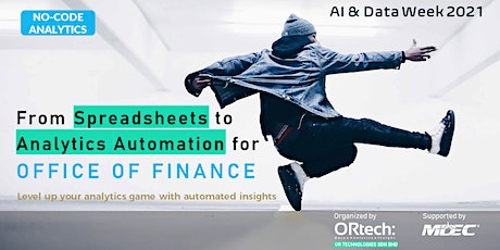 From Spreadsheets to Analytics Automation for Office of Finance tickets