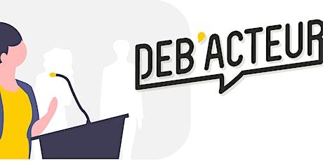 Déb'Acteur x Académie du Climat (Paris) - Quota Carbone billets