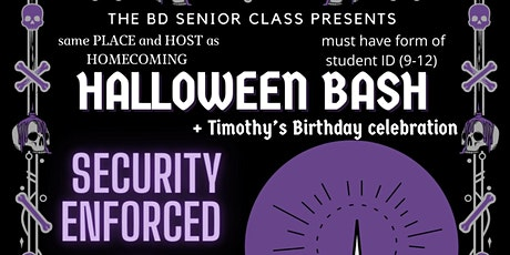 Timothy's Birthday Celebration/Halloween Bash tickets