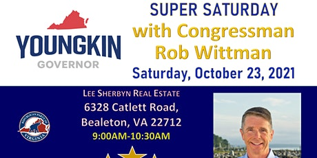 Super Saturday with Congressman Rob Wittman tickets