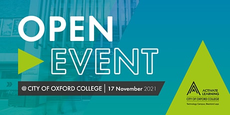 City of Oxford College November Open Event tickets
