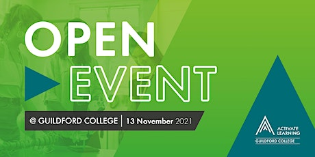 Guildford College November Open Event tickets