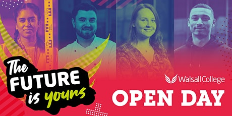 Walsall College November Open Day 2021 tickets