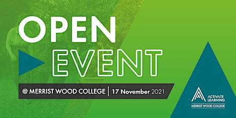 Merrist Wood College November Open Event tickets