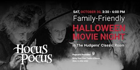 Family-Friendly Halloween Movie Night: Hocus Pocus tickets