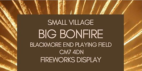 Blackmore End Bonfire Night tickets