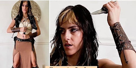Drink & Draw Online - Costumed Model Drawing tickets