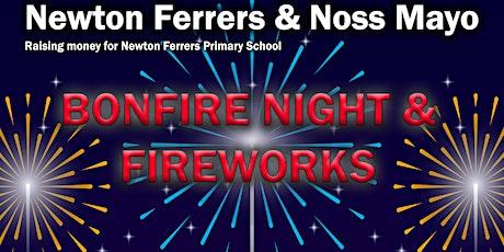 BONFIRE NIGHT & FIREWORKS 2021 NEWTON FERRERS & NOSS MAYO tickets