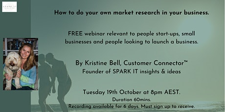 How to do your own market research in your business tickets