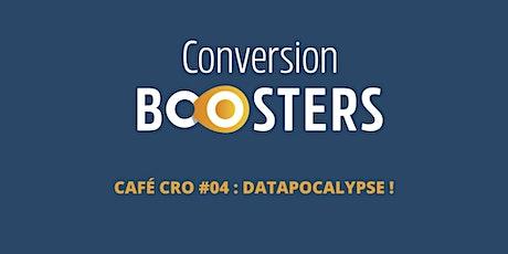 Café CRO : Conférence sur les nouveaux défis Data-Analytics 2021/2022 billets