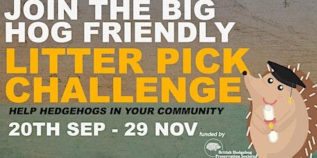Big Hog Friendly Litter Pick (26/10) tickets