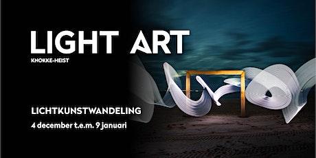 Light ART - begeleide wandeling met gids tickets