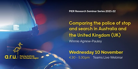 Comparing the use of stop and search in Australia and the United Kingdom tickets