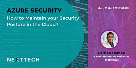 Microsoft Azure: How to Maintain Your Security Posture in the Cloud tickets