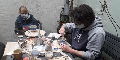 WORKSHOP: Create your unique ceramic candle holder-21 Oct21 tickets