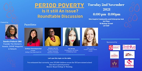 Roundtable Talk - Period Poverty tickets
