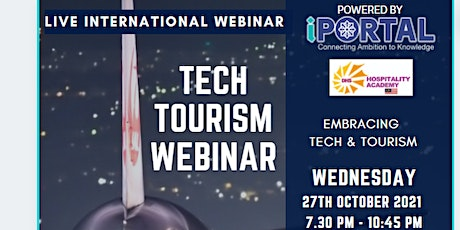 EMBRACING TECHNOLOGY & TOURISM tickets