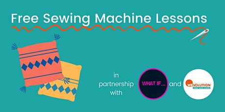 Free Sewing Machine Lessons (How to make a cushion cover) tickets
