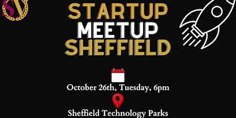 Startup Meetup Sheffield - October 2021 tickets