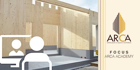 LiVEonWEB | FOCUS LEGNO. Fondazioni a secco innovative per edifici in legno biglietti