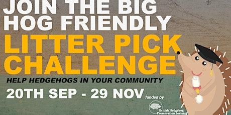 Big Hog Friendly Litter Pick (24/11) tickets