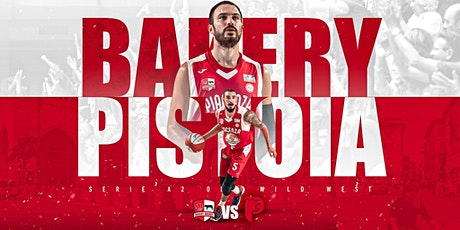 Bakery Basket Piacenza vs Pistoia Basket biglietti